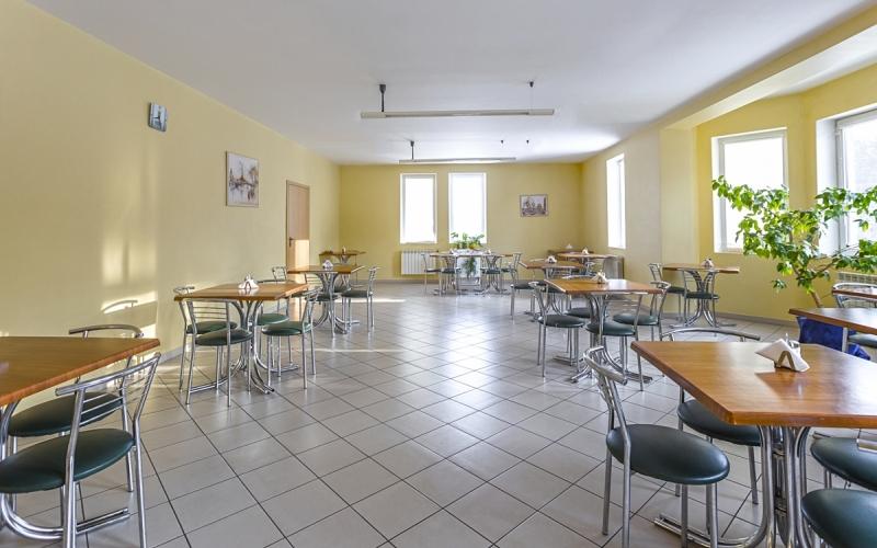 столовая клиники Рекавери